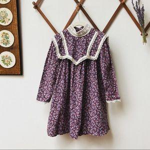 Gunne Sax • Vintage Floral Prairie Dress